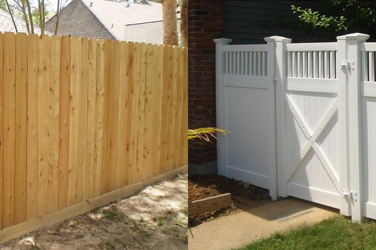Blog Wood Vs Vinyl Fence Pros And Cons