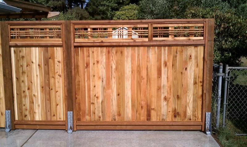 Lattice Top Wulff Fence