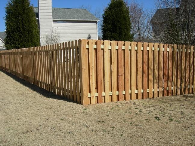 shadow box fence design plans picket calculator